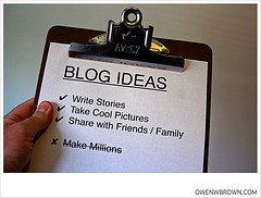 BlogIdeas