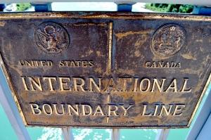 US Canada boundary