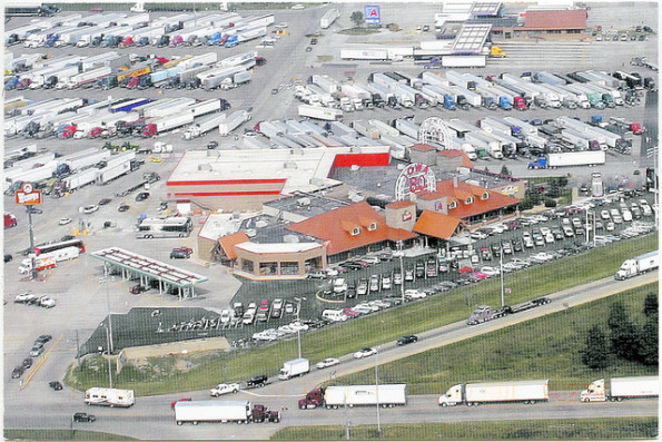 Large Truck Stop