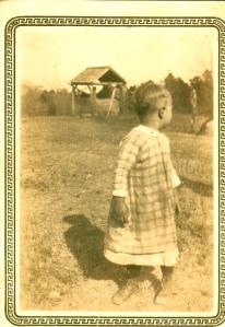 Willie Albert Swain as toddler